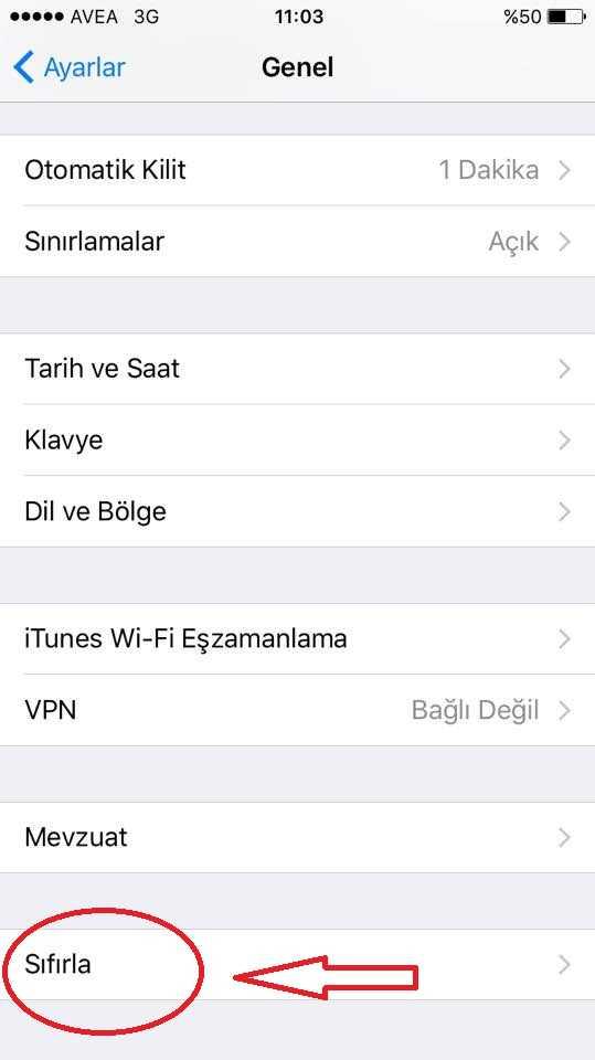 App Store bağlanamıyor çözüm