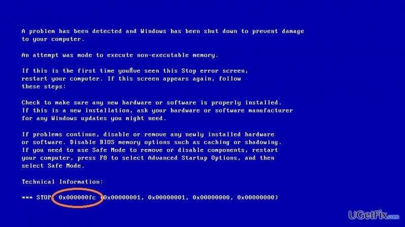 Windows 10 da Mavi Ekran Hatası Çözümü